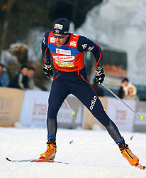 CHANGCHUN, CHINA - SUNDAY, FEBRUARY 25th, 2007: Vittoz Vincent of France competes to win the silver medal in the men's 15 km sprint race at the 2007 FIS World Cup cross-country skiing event. (Pic by Osports/Propaganda)