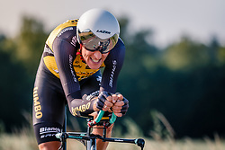 Robert Gesink of Team Lotto NL - Jumbo, Dutch Individual Time Trial Nationals Men Elite, Stokkum, Montferland, The Netherlands, 21 June 2017. Photo by Pim Nijland / PelotonPhotos.com | All photos usage must carry mandatory copyright credit (Peloton Photos | Pim Nijland)