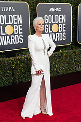 January 6, 2019 - Beverly Hills, California, U.S. - Golden Globe presenter JAIME LEE CURTIS attends the 76th Annual Golden Globe Awards at the Beverly Hilton in Beverly Hills, CA on Sunday, January 6, 2019. (Credit Image: © HFPA via ZUMA Wire/ZUMAPRESS.com)