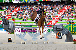 Penelope Leprevost, (FRA), Flora De Mariposa - World Champions, - Second Round Team Competition - Alltech FEI World Equestrian Games™ 2014 - Normandy, France.<br /> © Hippo Foto Team - Leanjo De Koster<br /> 25/06/14