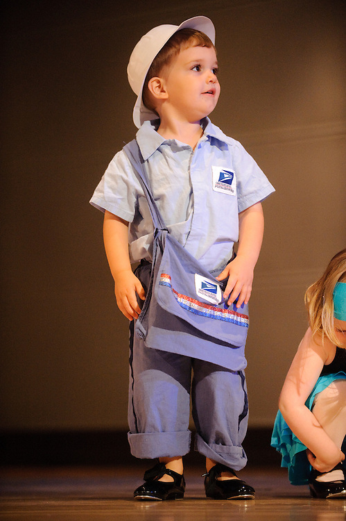 (photo by Matt Roth).Friday, June 18, 2010..Inertia Performing Arts' Spring Concert at MICA's Falvey Hall in the Brown Center...Mr. Postman, Tomorrow's Child Mini Movers