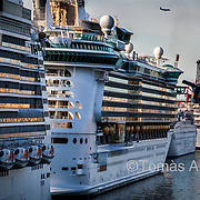 Due to the massive number of cruise ships arriving at the port of Barcelona, cruise ship tourism has become the city's second largest source of contamination, second only to road traffic.