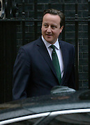 © Licensed to London News Pictures. 18/03/2013. Westminster, UK British Prime Minister David Cameron leaves Downing Street today 18th March 2013. Photo credit : Stephen Simpson/LNP