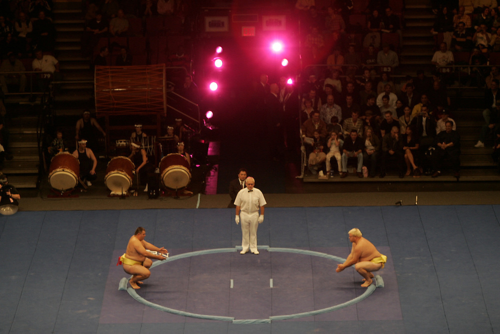 World Sumo Challenge at New York's Madison Square Garden. Saturday 22 October 2005.