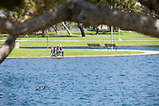 Fishing at Cerritos Regional Community Park