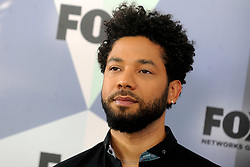 January 29, 2019 - File Photo - 'Empire' star Jussie Smollett was attacked and hospitalized after what Chicago police are investigating as a possible hate crime. PICTURED: May 15, 2018 - New York, New York, U.S. - JUSSIE SMOLLETT attends 2018 Fox Network Upfront at Wollman Rink, Central Park. (Credit Image: © Dennis Van Tine/Future-Image via ZUMA Press)