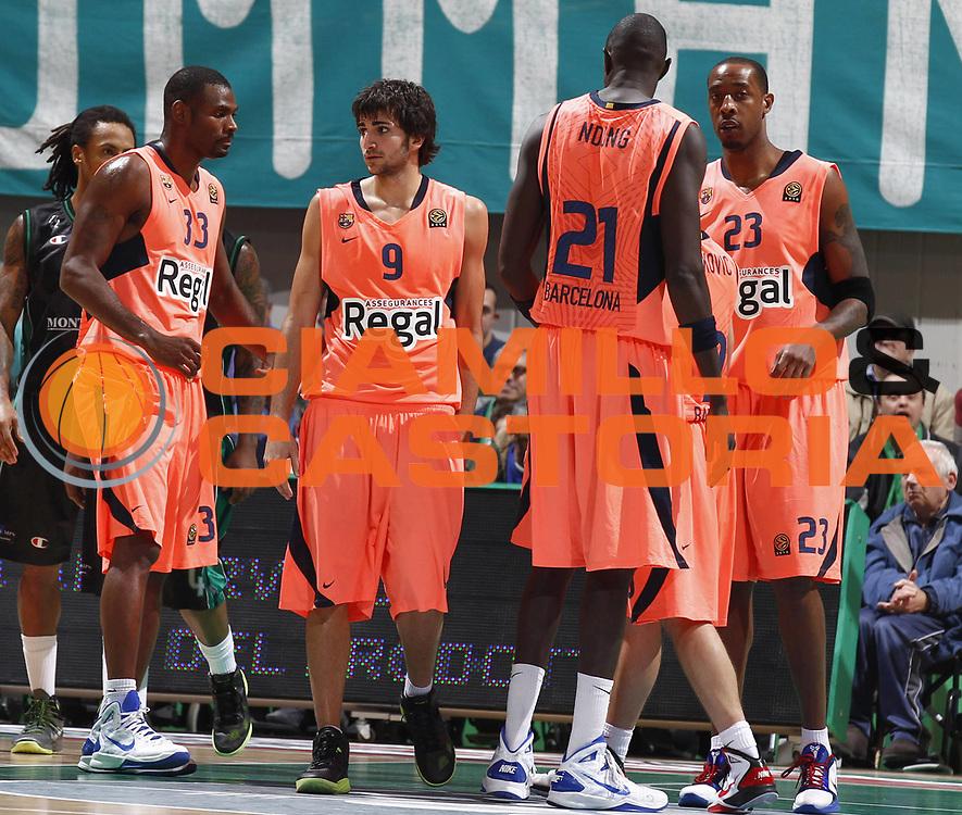 DESCRIZIONE : Siena Eurolega 2010-11 Montepaschi Siena Regal Barcellona Barcelona<br /> GIOCATORE : Ricky Rubio Pete Mickeal Boniface Ndong Terence Morris<br /> SQUADRA : Regal Barcellona Barcelona<br /> EVENTO : Eurolega 2010-2011<br /> GARA :  Montepaschi Siena Regal Barcellona Barcelona<br /> DATA : 17/11/2010<br /> CATEGORIA :<br /> SPORT : Pallacanestro <br /> AUTORE : Agenzia Ciamillo-Castoria/E.Castoria<br /> Galleria : Eurolega 2010-2011<br /> Fotonotizia : Siena Eurolega Euroleague 2010-11 Montepaschi Siena Regal Barcellona Barcelona<br /> Predefinita :