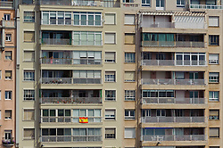 Block of flats near the port in Santander, Spain<br /> <br /> (c) Andrew Wilson   Edinburgh Elite media