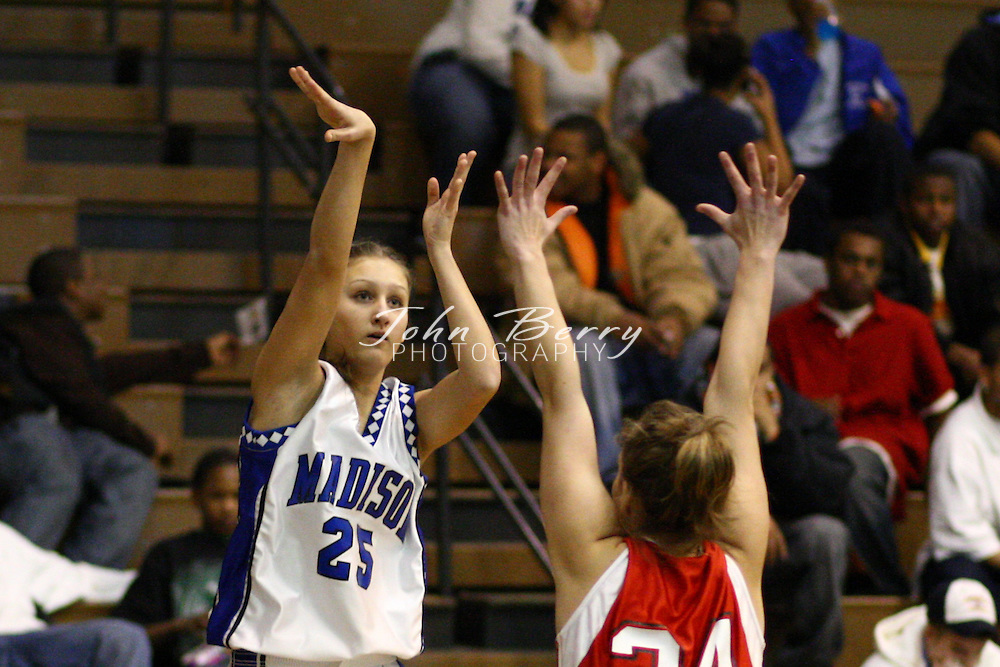 MCHS Varsity Girls Basketball.vs George Mason.1/24/08