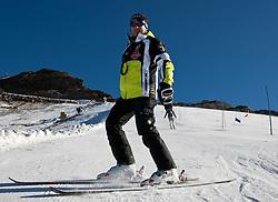 04.11.2011, Moelltaler Gletscher, Flattach, AUT, DSV Medientag, im Bild Wolfgang Maier Sportdirektor Alpin // During media day of German Ski Federation DSV at Moelltaler glacier in Flattach, Carinthia, Austria on 4/10/2011. EXPA Pictures © 2011, PhotoCredit: EXPA/ J. Groder