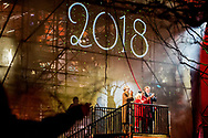 27-1-2018 LEEUWARDEN - King Willem-Alexander and Queen M&aacute;xima perform the official opening act of Leeuwarden-Frysl&acirc;n 2018, European Capital of Culture (LF2018)Since 1985, two European cities have been elected European Capital of Culture annually, intended to show the richness and diversity of European cultures. The capitals establish a program that consists of events that put the historical and cultural heritage in the spotlight.<br />  ROBIN UTRECHT