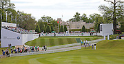 The 1st hole during the 4th day of the BMW PGA Championship at Wentworth, Virginia Water, United Kingdom on 24 May 2015. Photo by Ellie  Hoad.