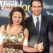 NLD/Amsterdam/20140614 - Inloop premiere Warhorse, Jeroen Spitzenberger en ..................