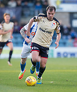 18th November 2017, Dens Park, Dundee, Scotland; Scottish Premier League football, Dundee versus Kilmarnock; Dundee's Paul McGowan