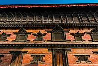 Palace of 55 Windows, Durbar Square, Bhaktapur, Kathmandu Valley, Nepal.