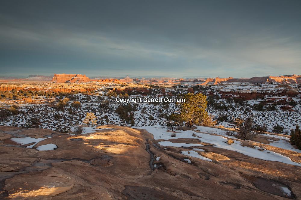 Sunset over Canyonlands National Park
