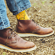 Footwear apparel shoot. San Francisco, CA | Socksmith