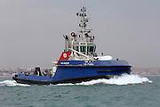 Tugboat, Valencia, Spain. 20/4/2006