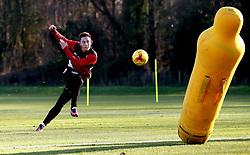 Josh Brownhill of Bristol City takes part in training - Mandatory by-line: Robbie Stephenson/JMP - 19/01/2017 - FOOTBALL - Bristol City Training Ground - Bristol, England - Bristol City Training