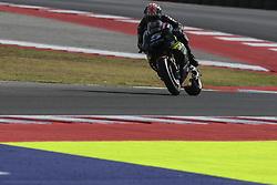 September 8, 2017 - Misano Adriatico, Italy - Johann Zarco  (Monster Yamaha Tech 3) during free practice for Britsh  MotoGP at Misano World circuit (Credit Image: © Gaetano Piazzolla/Pacific Press via ZUMA Wire)