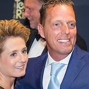 NLD/Amsterdam/20151015 - Televizier gala 2015, Rob Geus en partner Suzanne Ozek