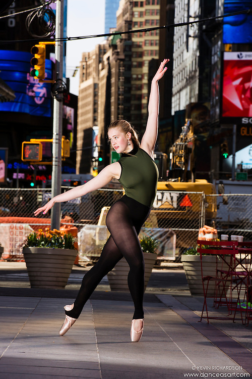Dance As Art Times Square New York City Dance Photography with Hannah Feltham