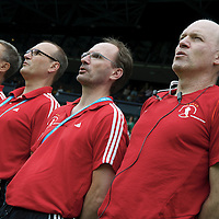 DEN HAAG - Rabobank Hockey World Cup<br /> 29 Germany - Korea<br /> Foto: German staff.<br /> COPYRIGHT FRANK UIJLENBROEK FFU PRESS AGENCY