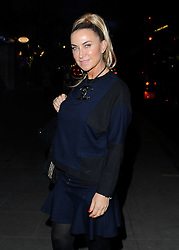 Meg Mathews attends the launch of Skate at Somerset House in London, UK. 13/11/2013<br /> BYLINE MUST READ : GOTCHAIMAGES.COM<br />