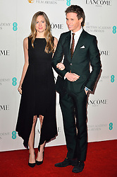 © Licensed to London News Pictures. 13/02/2016. <br /> HANNAH BAGSHAWE and EDDIE REDMAYNE attend the BAFTA Lancôme Nominees' Party held at Kensington Palace. London, UK. Photo credit: Ray Tang/LNP