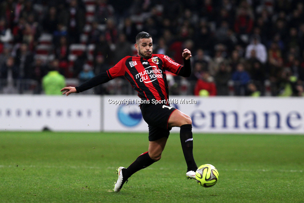 Valentin EYSSERIC  - 23.01.2015 - Nice / Marseille - 22eme journee de Ligue 1<br />