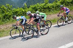 Luka Pibernik (SLO) of Radenska during Stage 3 from Skofja Loka to Vrsic (170 km) of cycling race 20th Tour de Slovenie 2013,  on June 15, 2013 in Slovenia. (Photo By Vid Ponikvar / Sportida)