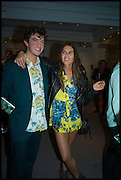 MAX WEILAND; EMMA SHENKMAN, Sotheby's Frieze week party. New Bond St. London. 15 October 2014.
