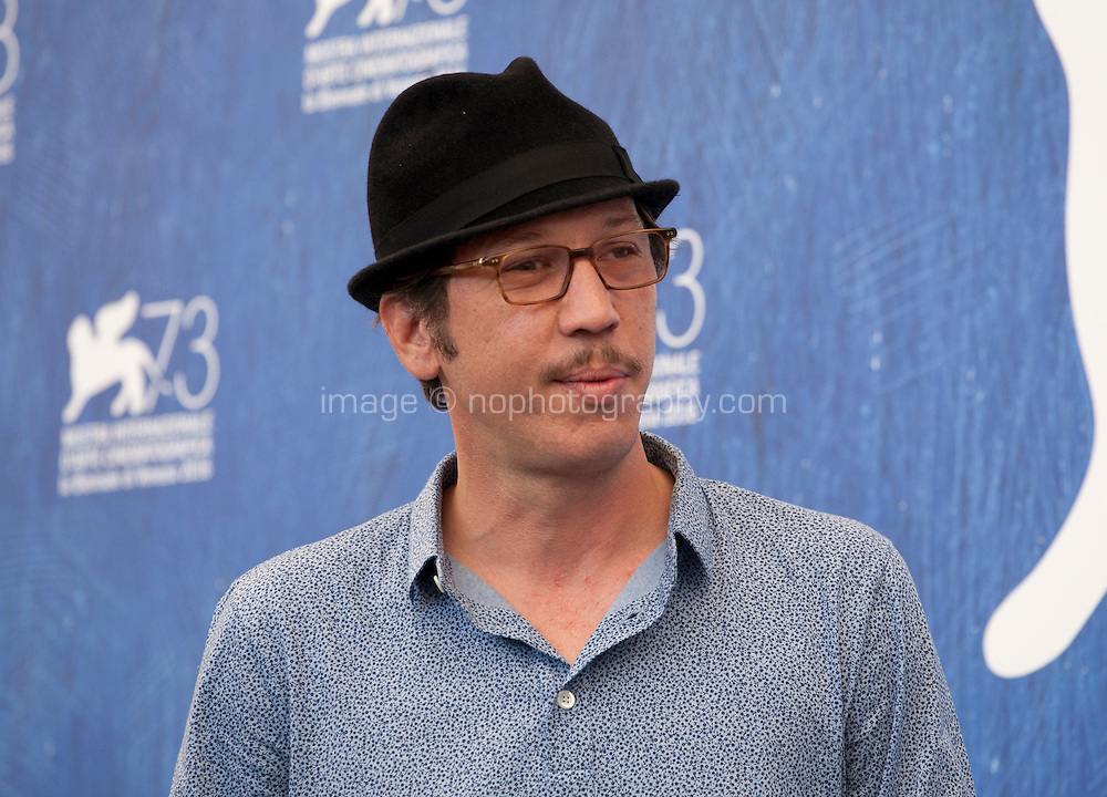 Actor Reda Kateb at Les Beaux Jours d'Aranjuez (The Beautiful Days of Aranjuez) film photocall at the 73rd Venice Film Festival, Sala Grande on Thursday September 1st 2016, Venice Lido, Italy.