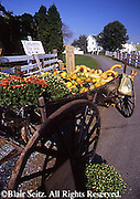 Amish Farm Roadside Produce Stand, Lancaster Co., PA