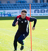 Dundee&rsquo;s Darren O&rsquo;Dea - Dundee FC itraining at Dens Park, Dundee, Photo: David Young<br /> <br />  - &copy; David Young - www.davidyoungphoto.co.uk - email: davidyoungphoto@gmail.com