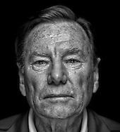 Trainer Legende und ex Davis Cup Captain Nikola &quot;Niki&quot; Pilic,<br /> Schwarzweiss Portrait,privat,Einzelbild,