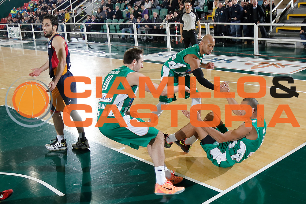 DESCRIZIONE : Avellino Lega A 2014-15 Sidigas Avellino Acea Virtus Roma<br /> GIOCATORE : Daniele Cavaliero Adam Hanga Sundiata Gaines<br /> CATEGORIA : fair play<br /> SQUADRA : Sidigas Avellino<br /> EVENTO : Campionato Lega A 2014-2015<br /> GARA : Sidigas Avellino Acea Virtus Roma<br /> DATA : 13/12/2014<br /> SPORT : Pallacanestro <br /> AUTORE : Agenzia Ciamillo-Castoria/A. De Lise<br /> Galleria : Lega Basket A 2014-2015 <br /> Fotonotizia : Avellino Lega A 2014-15 Sidigas Avellino Acea Virtus Roma