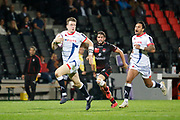 Sam James to Sale, Alexis Palisson to Lou during the European Rugby Challenge Cup, Pool 2, between Lyon OU and Sale Sharks on October 20, 2017 at Matmut stadium in Lyon, France - Photo Romain Biard / Isports / ProSportsImages / DPPI