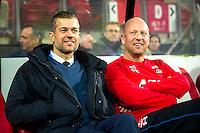 ALKMAAR - 19-12-2015, AZ - FC Utrecht, AFAS Stadion, 2-2, Joost van der Hoek en de laatste wedstrijd van Maarten Gozeling.