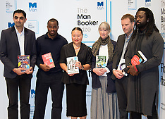 2015-10-12 Man Booker Prize finalists photocall on eve of award.