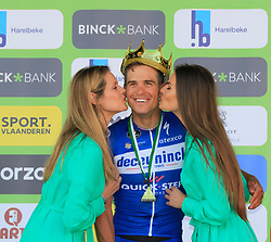 Zdenek Stybar (CZE) Deceuninck-Quick Step wins the 2019 E3 Harelbeke Binck Bank Classic 2019 running 203.9km from Harelbeke to Harelbeke, Belgium. 29th March 2019.<br /> Picture: Eoin Clarke | Cyclefile<br /> <br /> All photos usage must carry mandatory copyright credit (© Cyclefile | Eoin Clarke)