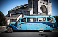 9/07/18 - LAVASTRIE - CANTAL - FRANCE - Essais car CITROEN P32 carrosserie GRANGE de 1937 - Photo Jerome CHABANNE