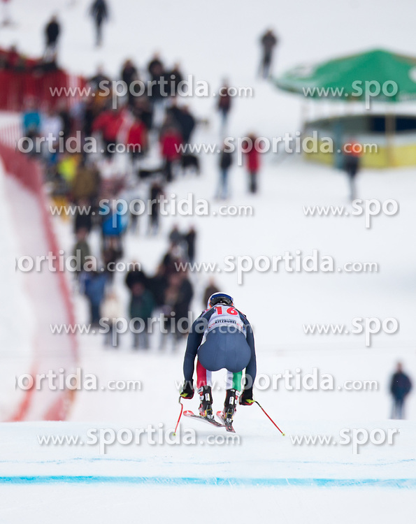 19.01.2016, Streif, Kitzbuehel, AUT, FIS Weltcup Ski Alpin, Kitzbuehel, 1. Abfahrtstraining, Herren, im Bild Peter Fill (ITA) // Peter Fill of Italy in action during 1st Training of the men's Downhill Race of Kitzbuehel FIS Ski Alpine World Cup at the Streif in Kitzbuehel, Austria on 2016/01/19. EXPA Pictures © 2016, PhotoCredit: EXPA/ Johann Groder