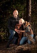 Finn Christian Jagge med hunden Spiff