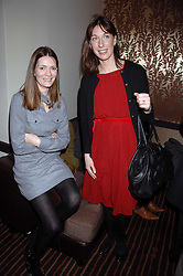 Left to right, PLUM SYKES and SAMANTHA CAMERON wife of David Cameron MP the Conservative Party leader at a lunch hosted by Ralph Lauren to present their Spring 2007 collection in support of the Serpentine Gallery's Education Programme, held at Fifty, 50 St.James's Street, London SW1 on 20th March 2007.<br /><br />NON EXCLUSIVE - WORLD RIGHTS