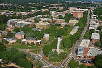 Aerial of North Campus looking west southwest.