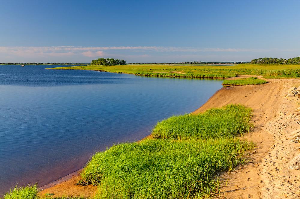 Hallock Bay (Long Beach Bay), Orient Long Island, New York
