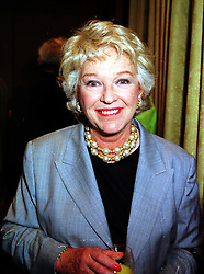 MISS KATIE BOYLE at a luncheon in London on 7th September 1999.MUX 52