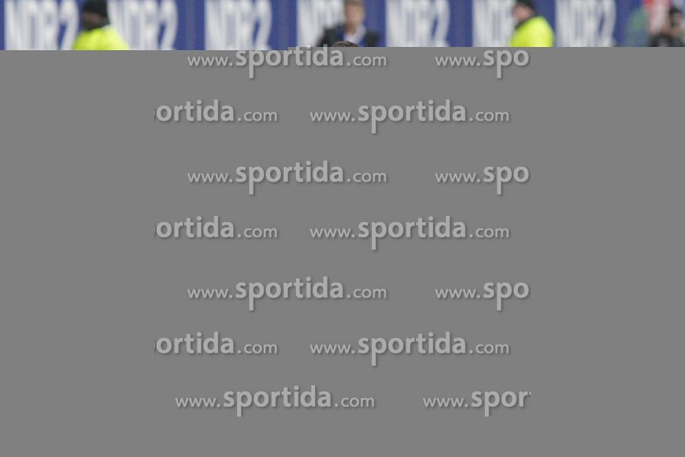 22.02.2014, Imtech Arena, Hamburg, GER, 1. FBL, Hamburger SV vs Borussia Dortmund, 22. Runde, im Bild Hakan Calhanoglu (HSV) // during the German Bundesliga 22th round match between Hamburger SV and Borussia Dortmund at the Imtech Arena in Hamburg, Germany on 2014/02/23. EXPA Pictures &copy; 2014, PhotoCredit: EXPA/ Eibner-Pressefoto/ Latendorf<br /> <br /> *****ATTENTION - OUT of GER*****