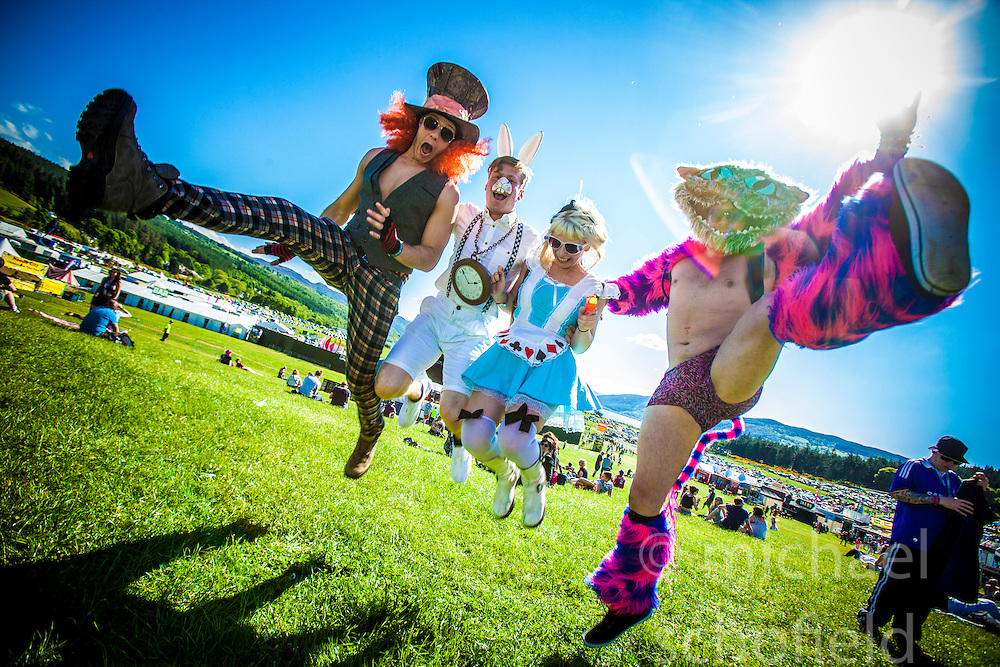"Friday at Rockness 2013, the annual music festival which took place in Scotland at Clune Farm, Dores, on the banks of Loch Ness, near Inverness in the Scottish Highlands. The festival is known as ""the most beautiful festival in the world"" ."
